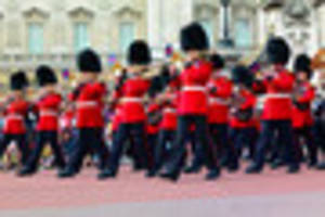 Buckingham Palace guards played the Game of Thrones theme song...